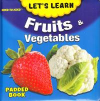 Medium Padded Books Fruit and Vegetables 9789674471897