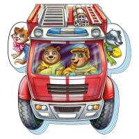 Сонечко Ірина На дороге. Отважная пожарная машина