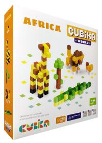 Дерев'яний конструктор Cubika World «Африка» = Wooden construction set Cubika World