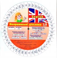 Зінов'єва Л. О. English. Неправильні дієслова. 1–4 класи 978-617-7576-04-3