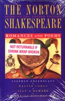 Shakespeare William The Norton Shakespeare, Based on the Oxford Edition: Romances and Poems 0393976734