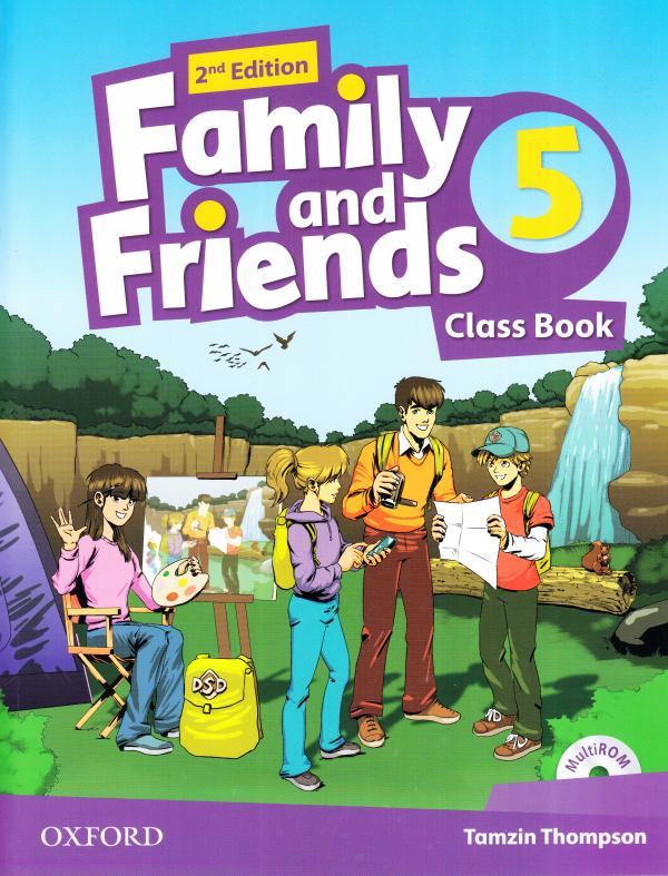 Family and Friends 2nd Edition 5 Class Book with Multi-ROM