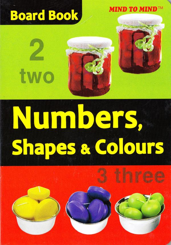 Board Books Numbers, Shapes and Colours