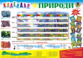 Будна Наталя Олександрівна Дидактичний матеріал/Календар природи/ 2000000000497