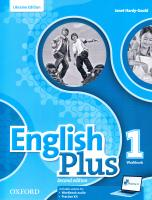English Plus 1 Workbook for Ukraine 2nd edition 9780194202220