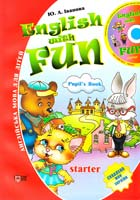 Іванова Ю. ENGLISH WITH FUN. STARTER. Pupil's Book 978-617-030-086-7