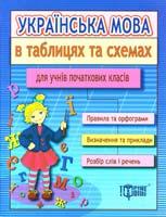 Курганова Наталя Українська мова в таблицях та схемах для учнів початкових класів 978-611-030-056-8