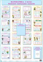 Роганін О. М., Русінова С. В. Математика. 5 клас: Комплект навчальних плакатів