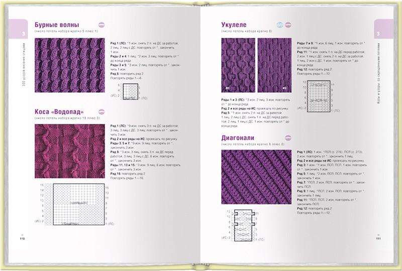 липман мелисса большая книга узоров для вязания на спицах