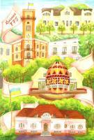 З любов'ю до Коломиї. Набір листівок