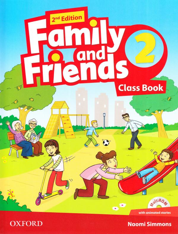 Family and Friends 2nd Edition 2 Class Book with Multi-ROM