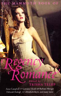 TelepTrisha (ed) The Mammoth Book of Regency Romance [USED]