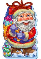 Сонечко Ірина С Новым годом! (на шнурке). Дед Мороз