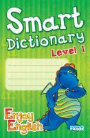 Гандзя І.В. АНГЛ. мова. Smart dictionary Зошит для запису слів  Enjoy English. 1 р.н. Дракон (зелёный)