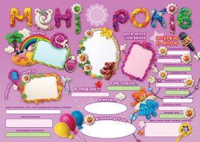 День народження — чарівні спогади на все життя! Дівчинці. 978-617-00-2845-7