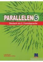 Басай Надія Підручник «Parallelen 6 Lehrbuch mit CD» 978-617-7074-90-7