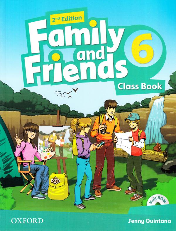 Family and Friends 2nd Edition 6 Class Book with Multi-ROM