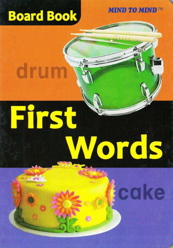 Board Books First words