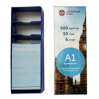 Картки для вивчення англійських слів. A1 Elementary. 500 карток, 30 тем, 6 ігор 978-966-97647-4-4