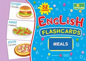 Вознюк Л. English : flashcards. Meals 2255555501993