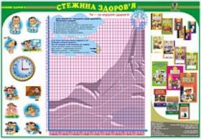 Будна Наталя Олександрівна Дидактичний матеріал/Стежина здоров'я/В3 2000000000701