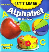 Medium Padded Books Alphabet Upper Case