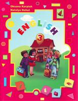 Карп'юк О.Д., Когут Н.О. English-3. Підручник з англійської мови для 3 класу 966-8790-15-4