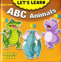 Medium Padded Books ABC Animals