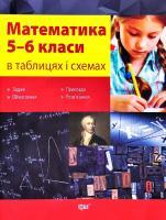 Каплун Олександр Математика в таблицях та схемах. 5-6 класи 978-966-939-161-2