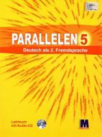 Басай Надія Підручник «Parallelen 5 Lehrbuch mit CD» 978-617-7074-07-5