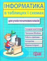 автор-упоряд. Москаленко В. Інформатика в таблицях та схемах для учнів початкових класів 978-617-030-223-6