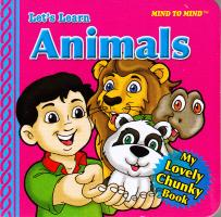 Foam Eva My Lovely Chunky Books Animals