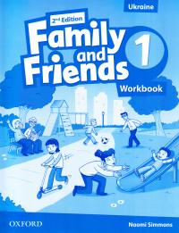 Family and Friends 2nd Edition 1 Workbook 9780194811095