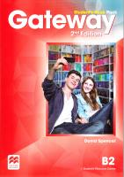Gateway 2Ed B2 Student's Book Pack 9780230473188