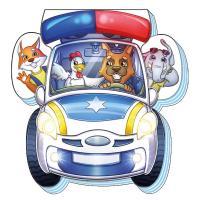 Сонечко Ірина На дорозі. Поліцейська машина 978-966-74-9300-4