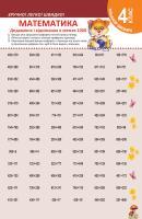 Федосова Вікторія Тренажер школяра. Математика 4 клас. Додавання і віднімання в межах 1000 978-617-03-0837-5