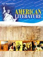 Мацелюх Ігор American literature: Підручник з американської літератури для профільної школи та старших класів середніх спеціалізованих шкіл з поглибленим вивченням англійської мови 966-8790-01-4
