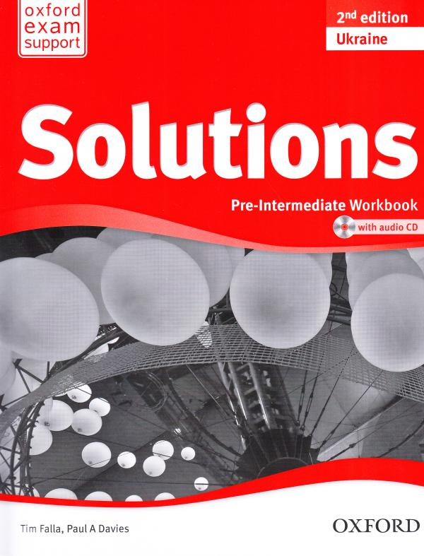 Solutions 2nd Edition Pre-Intermediate Workbook Ukrainian Edition