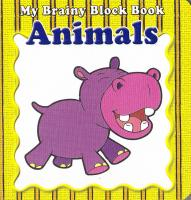 My Brainy Block Books Animals 9789673310357