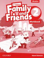 Family and Friends 2nd Edition 2 Workbook 9780194811217