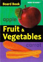 Board Books Fruit and Vegetables 9789673310494