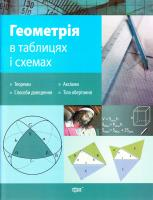 Роганін О. Геометрія в таблицях і схемах 978-966-404-588-6