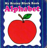 My Brainy Block Books Alphabet 9789673310333
