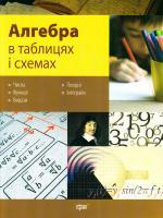 Роганін Олександр Алгебра та початки аналізу в таблицях та схемах 978-966-404-546-6