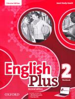 English Plus 2 Workbook for Ukraine 2nd edition 9780194202275