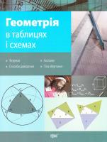 Роганін О. Геометрія в таблицях і схемах 978-966-939-109-4