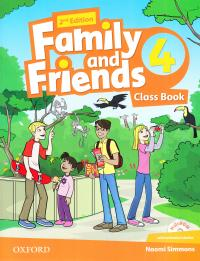 Family and Friends 2nd Edition 4 Class Book with Multi-ROM