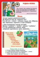 Будна Наталя Олександрівна Дидактичний матеріал/Рідна мова./ 2000000000794