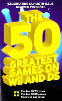 The 50 Greatest Games on Wii and DS [USED]