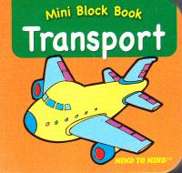 Mini Block books Transport